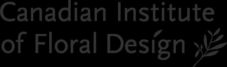 Canadian Institute of Floral Design Logo