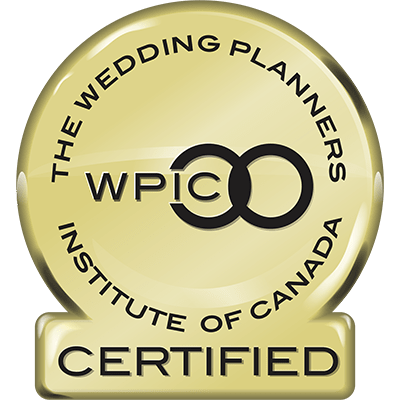 Wedding Planner Institute of Canada Certification Badge